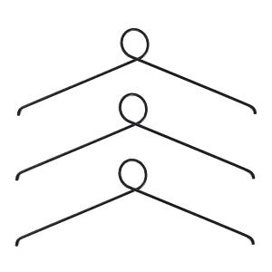Nordic Function - loop it sort - boejler - entre - knager tilbehoer - sovevaerelse - modernhousedk