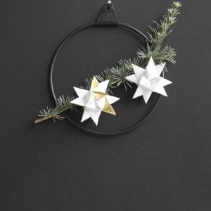 strups black rings - christmas