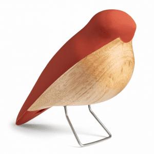 Aviendo - nattergalen - terragotta - figurer - boernevaerelse - dansk design - h c andersen