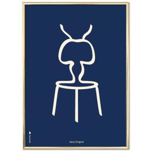 Brainchild-myren-poster-plakat-blaa-modernhouse
