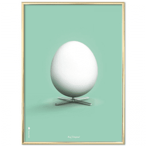 Brainchild-plakat-poster-dansk design-segget-groen-modernhouse
