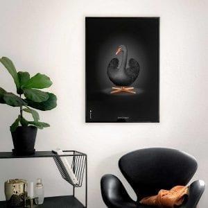 svanen-plakat-sort-brainchild