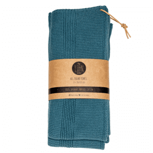 by lohn - all round towel - blaa haandklaede - dansk design - modernhousedk