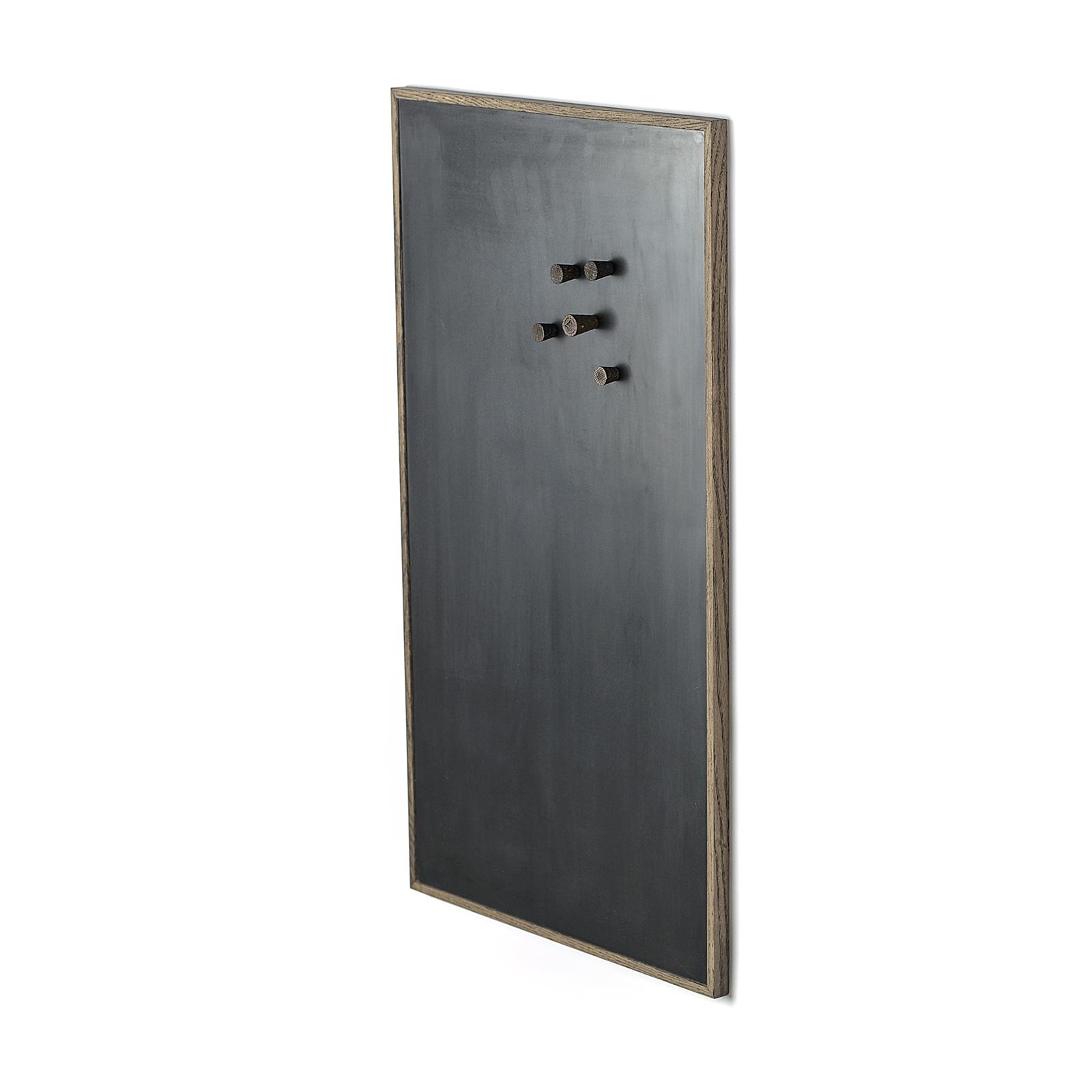 Notice Board – Mørk Egetræ/Sort, Large