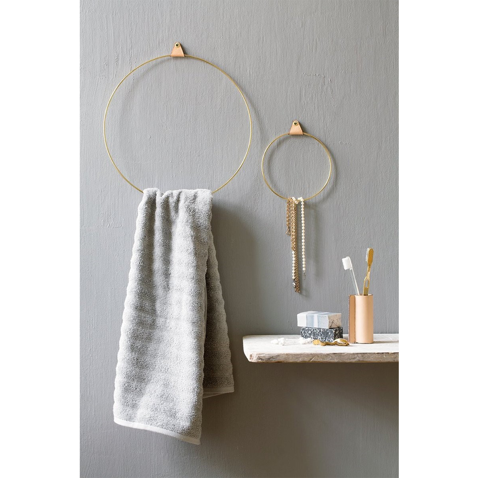 smykkeholder - strups ringe - smykker - dansk design