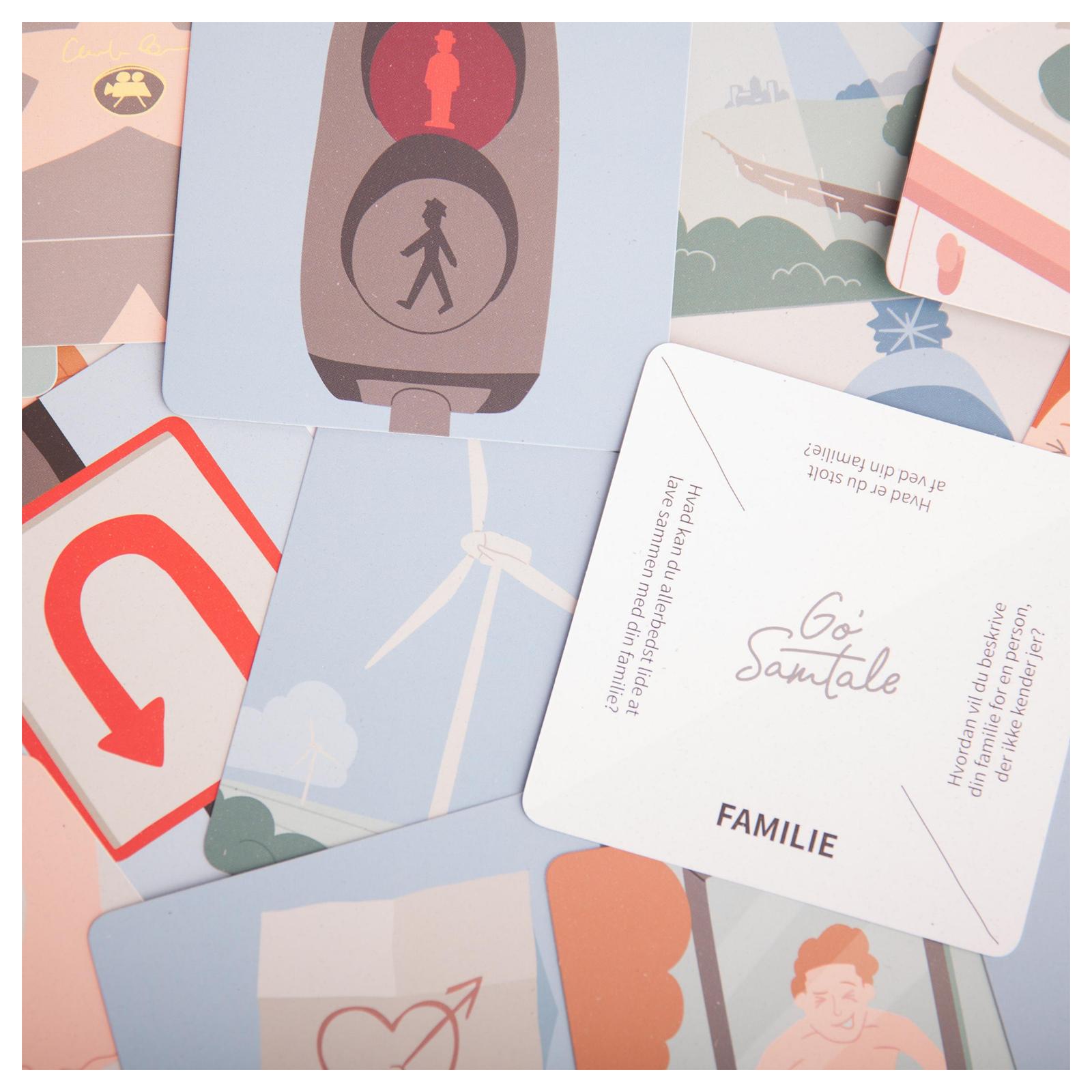 Go samtale - familie - hvad er du stolt af ved din familie - familietid - familiespil - familieudgave