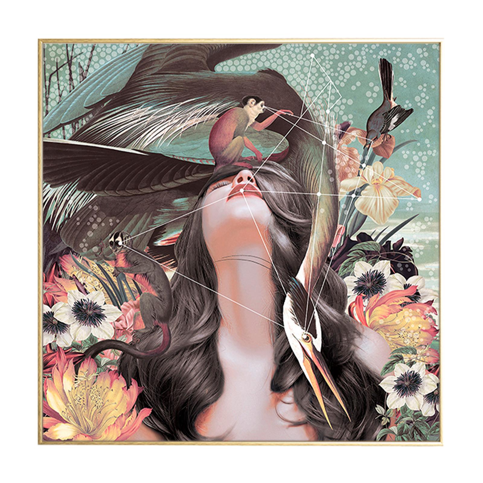 Flower Girl, illustration m. ramme