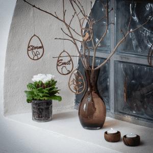 Familien kl - paaske - paaskepynt - paaskeindretning - dansk design - modernhousedk