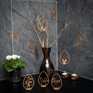 Familien kl - paaskepynt - paaske - dansk design - modernhousedk