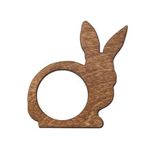 Familien kl - servietring - paaskehare - paaske hare - dansk design - modernhousedk