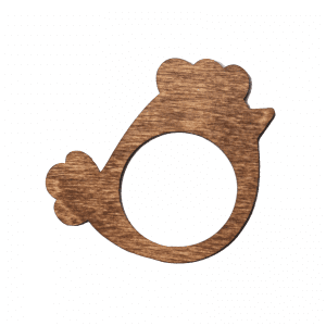 Familien kl - servietring - serviet ring - paaskepynt - paaskekylling - modernhousedk