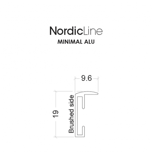 Incado - Nordic Line - Minimal - 30 x 40 cm