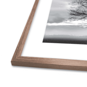 Incado - Slim walnut safety - plakatramme - ramme - modernhousedk