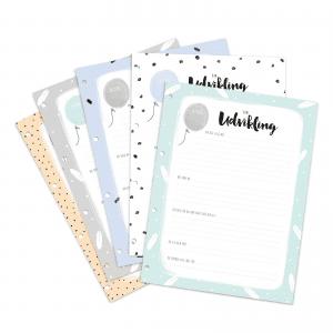 din udvikling - ekstra sider til barnets bog - prik og streg - modernhousedk