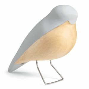 Aviendo - nattergalen grey - h c andersen - figurer - boernevaerelse - modernhousedk