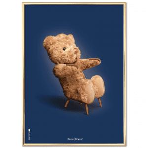 Brainchild - bamse - moerkeblaa - klassisk - plakater - gaveide til hende - gaveide til ham - danske klassiskere - modernhousedk