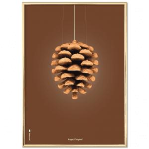 Brainchild - plakat - brun - danske designere - danske klassiskere - plakater - mors dags gave - gaveide - modernhousedk - julegaveide til hende - julegaveide til ham
