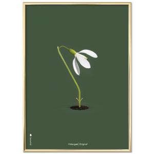 Brainchild - vintergaek - groen baggrundsfarve - danske klassiskere - dansk design - plakat - plakater - indretning stue