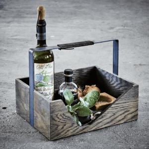 barudstyr - julegave til manden - The Oak Men - Carrie magasinholder - vinprop - vinbar - hjemmebar - stue - kontor - gaveide - modernhousedk - barting - barudstyr