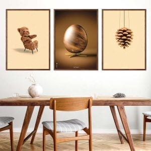 Bamse - aegget - Kogle - danske - design - plakater - brainchild
