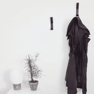 Nordic Function - sorte laeder knager - entre - knager - koekken - modernhouse