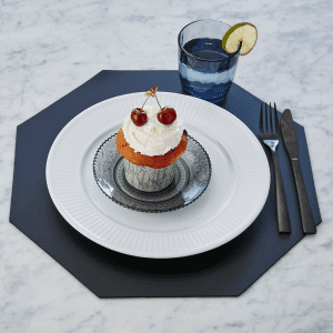 Sej design - ottekantede daekkeserviet - borddaekning - bordskaaner - koekken - alrum - stue - modernhousedk