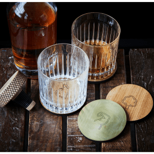 The Oak Men - hjemmebar - herreaften - rom - gin - bordskaaner - flaskeprop