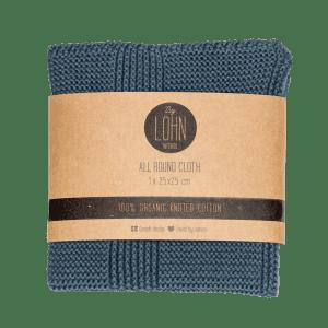 by lohn - moerkegraa - dark grey - strikkede klude - koekken - gaveide - dansk design - modernhousedk