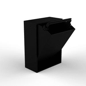 baeredygtig affaldssortering - ReCollector - sort affaldsspand - dansk design - baredygtig design - entre - koekken - depot - sortering - sortering i hjemmet