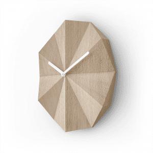 Delta clock egetrae med hvide viser