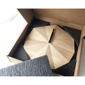 Delta clock i emballage