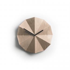 Lawadesign - lawa design - delta clock oak - vaegure trae - lawa delta clock - ur til vaeg