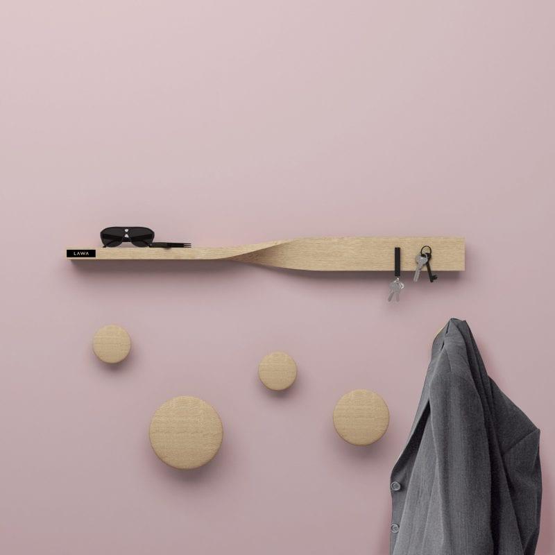 lawa design - entre - hylde - entre - noegleholder