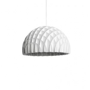 lawa design - pendel lampe i hvid - pendel trae - dansk design