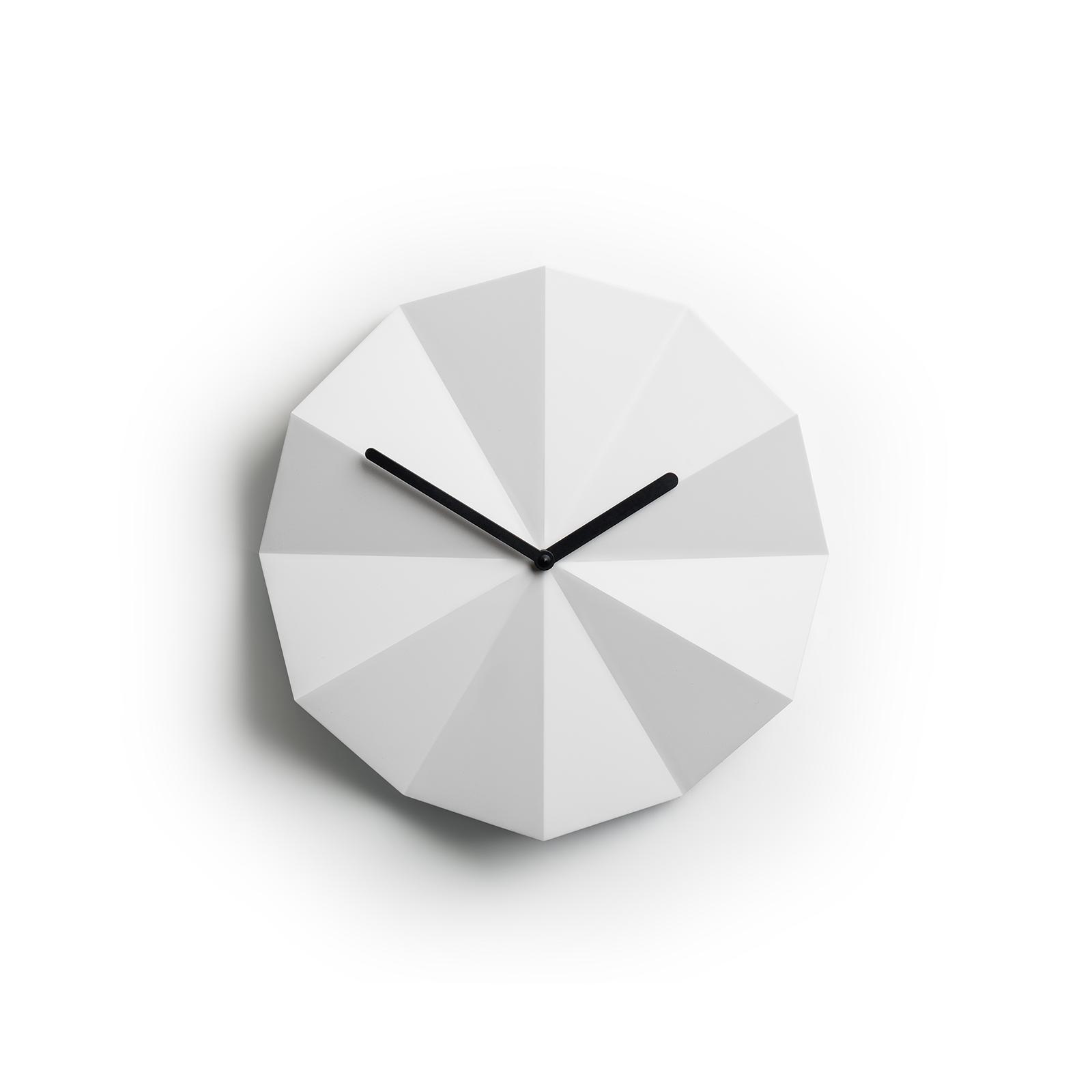 Delta Clock Hvid