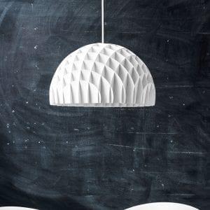 pendel lampe hvid