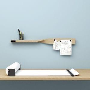 twist shelf - opslagstavle -hylde - kontor - kontorartikler