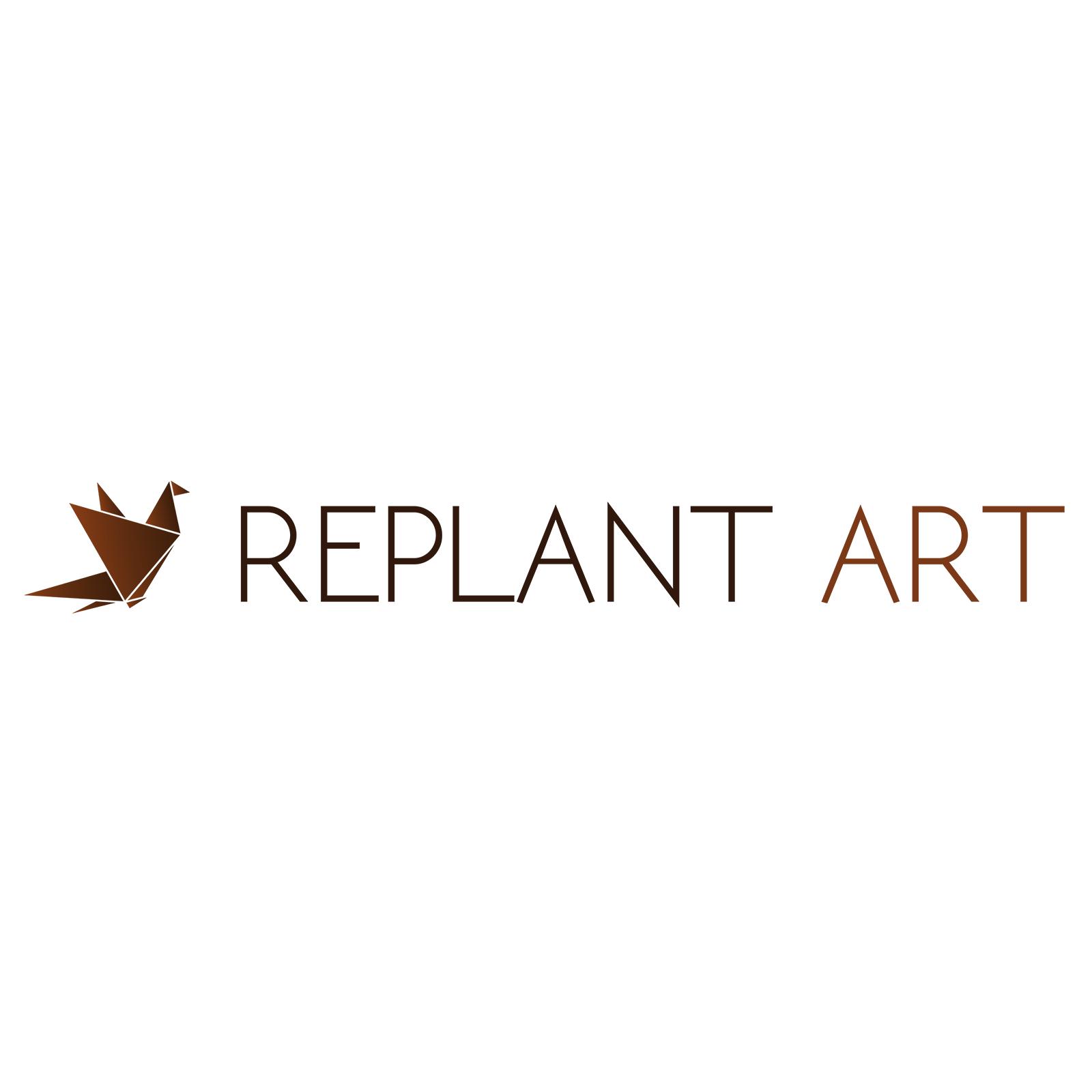 RePlant Art - mpm design - logo