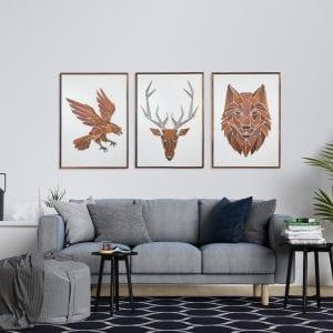replant art - vaegkunst - illustrationer - vaegdekorationer - modernhousedk
