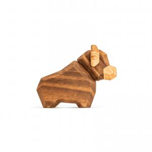 Den lille tyr - fablewood - traefigur - gaveide - modernhousedk