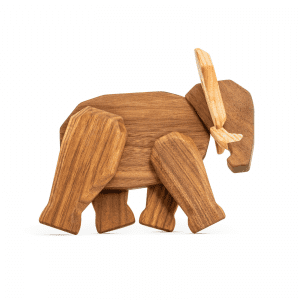 Elefant far - far elefant - fablewood - traefigur - dansk design