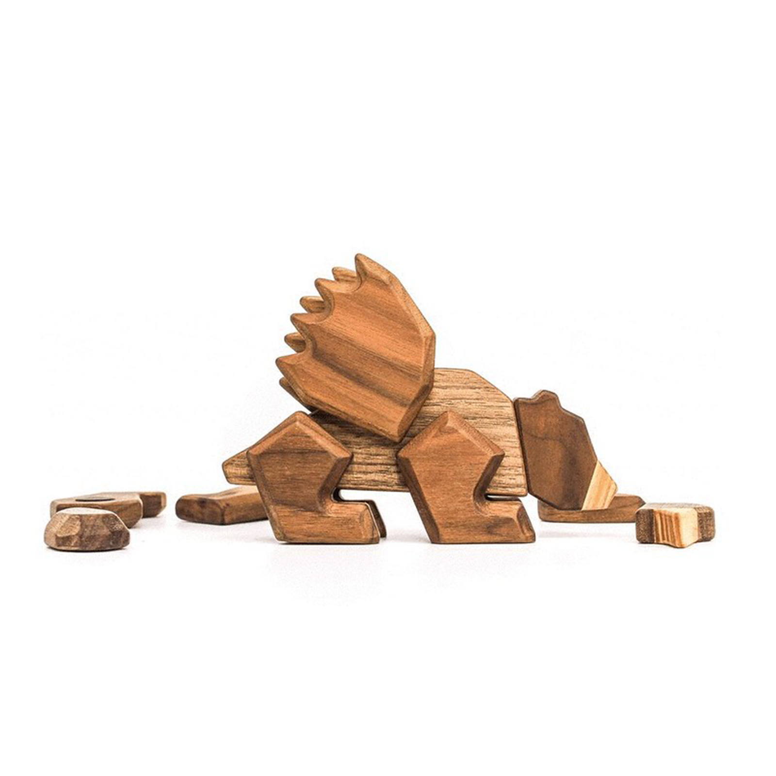 Fabeldyr - krokodille - bjoern - papegoeje - dansk design - fantasidyr