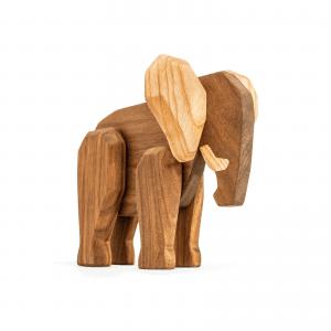 Far elefanten - Fablewood - dansk design - traelegetoej - figurer - modernhousedk