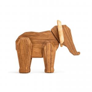 Mor elefant - Fablewood - traefigur