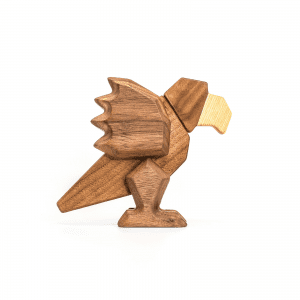 Papegoeje - fablewood - traefigur