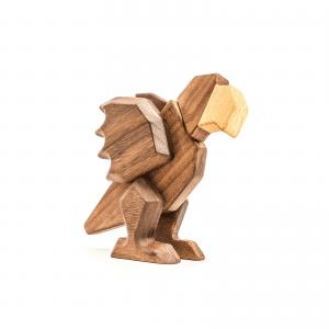 Papegoejen - fablewood - figurer - traefigurer - gaveide - legetoej i trae - modernhousedk