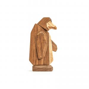 Pingvinen - gaveide - barselsgave - daabsgave - boernevaerelse - fablewood - modernhousedk