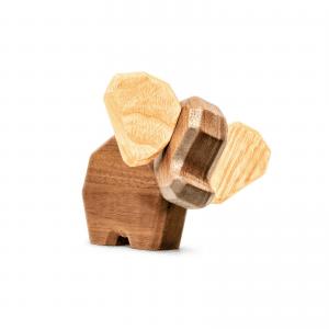 den lille elefant - fablewood - dansk design - gaveide - figurer - traefigur