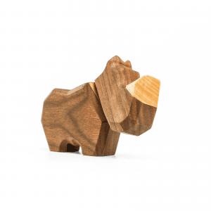 det lille naesehorn - Fablewood - dansk design - figurer - traefigurer - gaveide