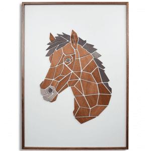 replant art - hesten - illustrationer - motiv i trae - vaegdekorationer